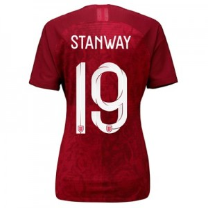 England Away Vapor Match Shirt 2019-20 - Women's with Stanway 19 printing