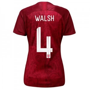 England Away Stadium Shirt 2019-20 - Women's with Walsh 4 printing