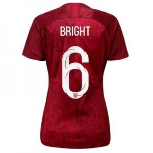 England Away Stadium Shirt 2019-20 - Women's with Bright 6 printing