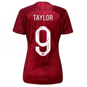 England Away Stadium Shirt 2019-20 - Women's with Taylor 9 printing