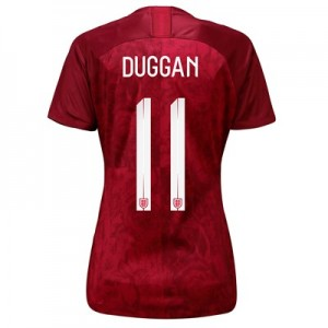 England Away Stadium Shirt 2019-20 - Women's with Duggan 11 printing