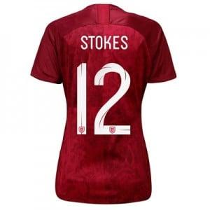 England Away Stadium Shirt 2019-20 - Women's with Stokes  12 printing