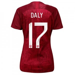 England Away Stadium Shirt 2019-20 - Women's with Daly 17 printing