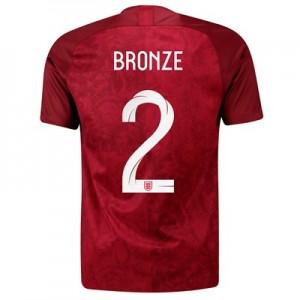 England Away Stadium Shirt 2019-20 - Men's with Bronze 2 printing