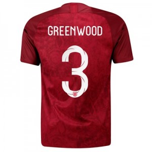 England Away Stadium Shirt 2019-20 - Men's with Greenwood 3 printing