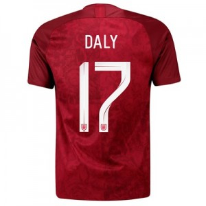 England Away Stadium Shirt 2019-20 - Men's with Daly 17 printing