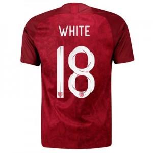 England Away Stadium Shirt 2019-20 - Men's with White 18 printing