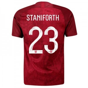 England Away Stadium Shirt 2019-20 - Men's with Staniforth 23 printing