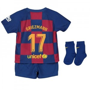 Barcelona Home Stadium Kit 2019-20 - Infants with Griezmann 17 printing