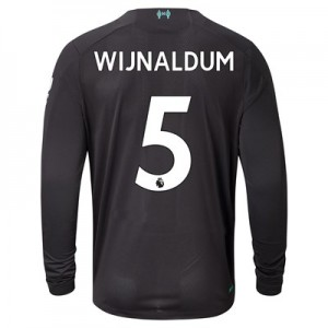 Liverpool Third Shirt 2019-20 - Long Sleeve with Wijnaldum 5 printing