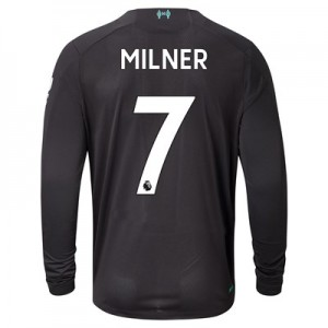 Liverpool Third Shirt 2019-20 - Long Sleeve with Milner 7 printing