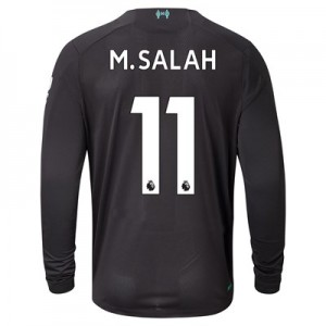 Liverpool Third Shirt 2019-20 - Long Sleeve with M.Salah 11 printing