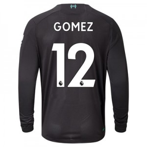 Liverpool Third Shirt 2019-20 - Long Sleeve with Gomez 12 printing