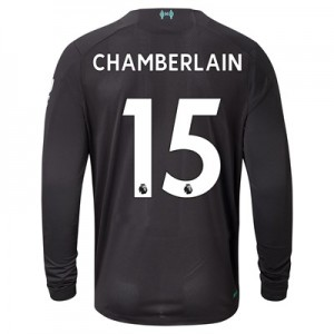 Liverpool Third Shirt 2019-20 - Long Sleeve with Chamberlain 15 printing