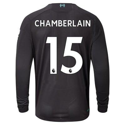 Liverpool Third Shirt 2019-20 - Long Sleeve with Chamberlain 15 printing