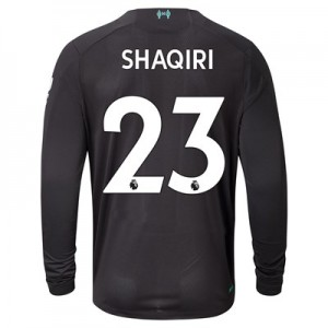 Liverpool Third Shirt 2019-20 - Long Sleeve with Shaqiri 23 printing
