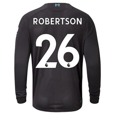 Liverpool Third Shirt 2019-20 - Long Sleeve with Robertson 26 printing