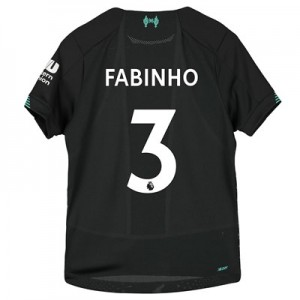 Liverpool Third Shirt 2019-20 - Kids with Fabinho 3 printing