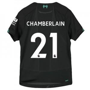 Liverpool Third Shirt 2019-20 - Kids with Chamberlain 15 printing