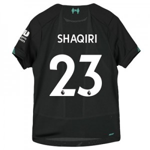 Liverpool Third Shirt 2019-20 - Kids with Shaqiri 23 printing