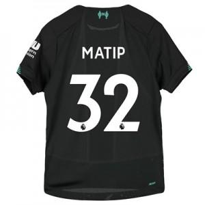 Liverpool Third Shirt 2019-20 - Kids with Matip 32 printing