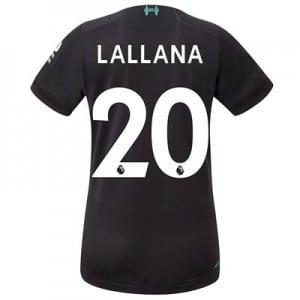 Liverpool Third Shirt 2019-20 - Womens with Lallana 20 printing