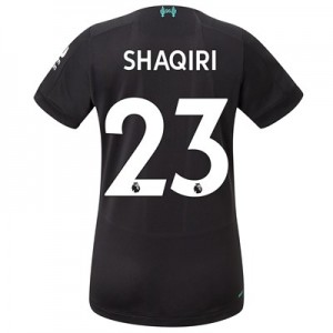 Liverpool Third Shirt 2019-20 - Womens with Shaqiri 23 printing