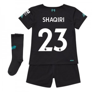 Liverpool Third Infant Kit 2019-20 with Shaqiri 23 printing