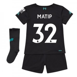 Liverpool Third Infant Kit 2019-20 with Matip 32 printing