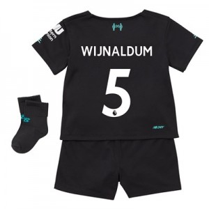 Liverpool Third Baby Kit 2019-20 with Wijnaldum 5 printing