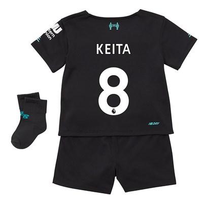 Liverpool Third Baby Kit 2019-20 with Keita  8 printing