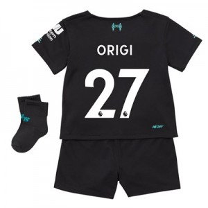 Liverpool Third Baby Kit 2019-20 with Origi 27 printing
