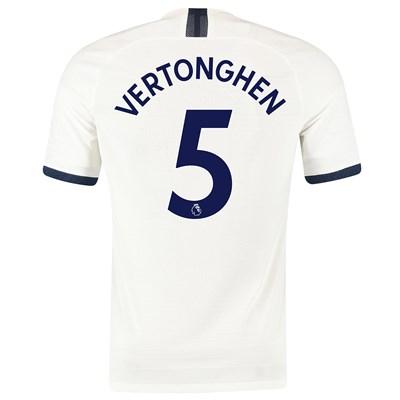Tottenham Hotspur Home Vapor Match Shirt 2019-20 with Vertonghen 5 printing