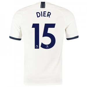 Tottenham Hotspur Home Vapor Match Shirt 2019-20 with Dier 15 printing