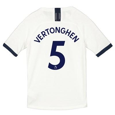 Tottenham Hotspur Home Vapor Match Shirt 2019-20 - Kids with Vertonghen 5 printing