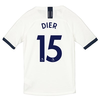 Tottenham Hotspur Home Vapor Match Shirt 2019-20 - Kids with Dier 15 printing