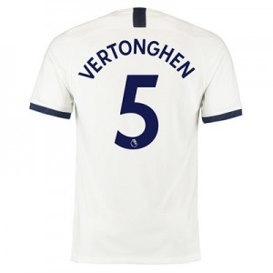Tottenham Hotspur Home Stadium Shirt 2019-20 with Vertonghen 5 printing