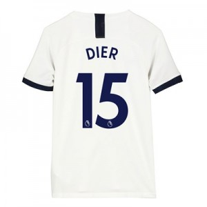 Tottenham Hotspur Home Stadium Shirt 2019-20 - Kids with Dier 15 printing