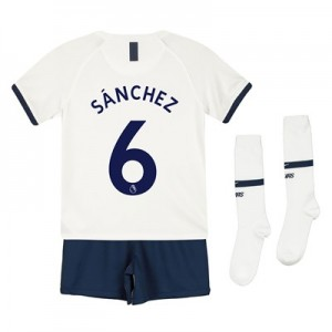 Tottenham Hotspur Home Stadium Kit 2019-20 - Little Kids with Sánchez 6 printing