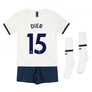 Tottenham Hotspur Home Stadium Kit 2019-20 - Little Kids with Dier 15 printing