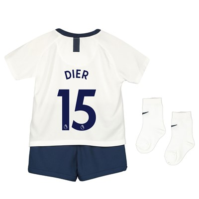 Tottenham Hotspur Home Stadium Kit 2019-20 - Infants with Dier 15 printing