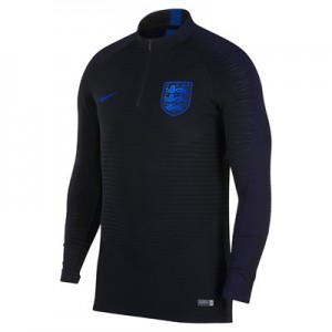 England Strike Vaporknit Drill Top - Black - Kids
