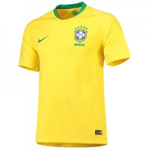 Brazil Home Stadium Shirt 2018