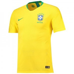 Brazil Home Vapor Match Shirt 2018
