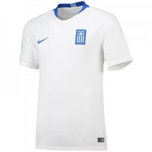 Greece Home Stadium Shirt 2018