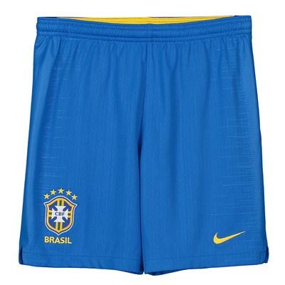 Brazil Home Stadium Shorts 2018 - Kids