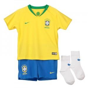 Brazil Home Stadium Kit 2018 - Infants