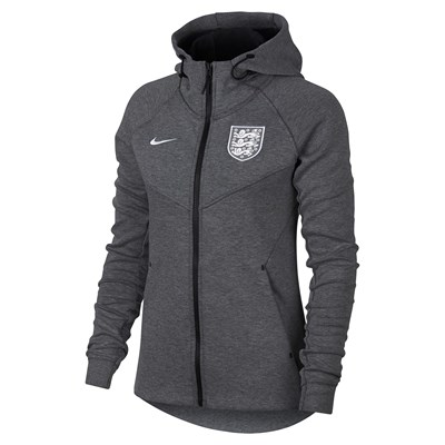 England Tech Fleece Authentic Windrunner Jacket - Grey - Womens