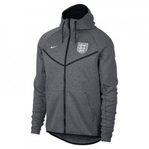 England Tech Fleece Authentic Windrunner Jacket - Grey