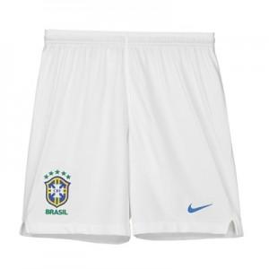 Brazil Away Stadium Shorts 2018 - Kids
